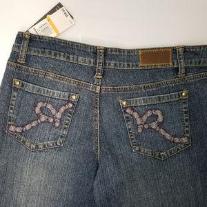 Rocawear Denim Blue Jeans Boot Cut Pants